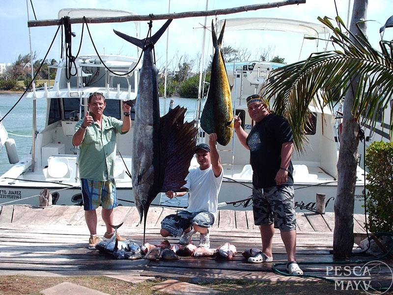 Pesca en puerto morelos pesca maya for Puerto morelos fishing